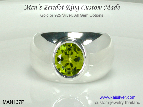 gold or silver ring for men