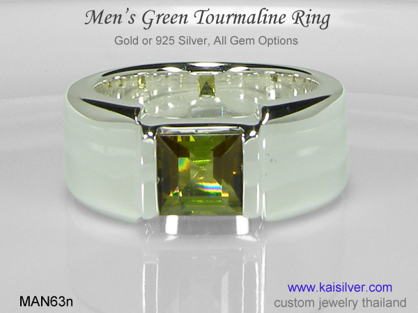 custom ring for men silver or gold