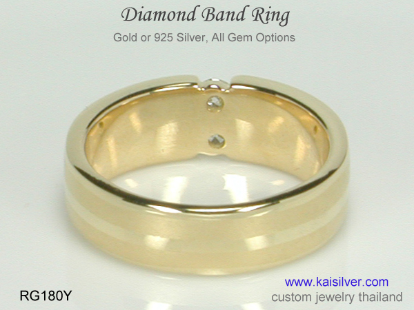 band rings custom